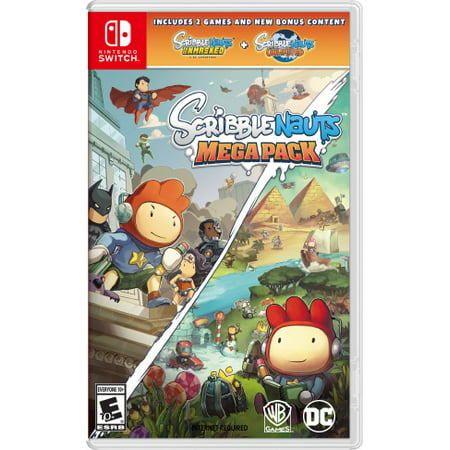 Scribblenauts Mega Pack, Warner Bros, Nintendo Switch,