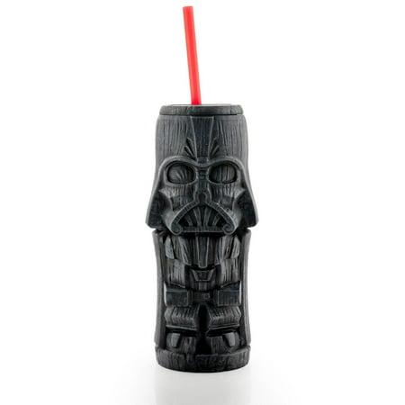 Geeki Tikis Star Wars Darth Vader Tumbler | Tiki Style Cup | Holds 19 (Tiki Tumbler)