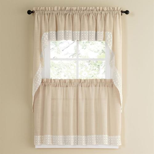 country style kitchen curtains and valances vanilla country style kitchen curtains with white 9500
