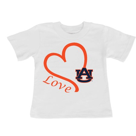 Auburn Tigers Love Baby/Toddler T-Shirt
