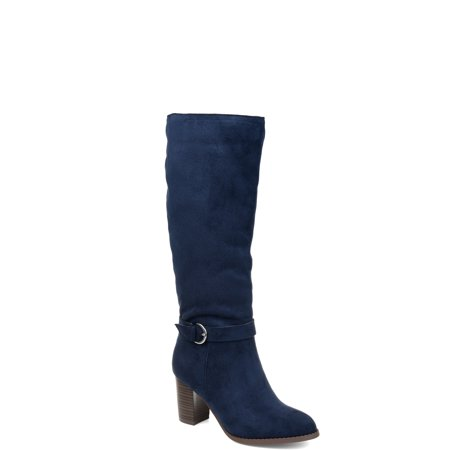 Womens Comfort Side Strap Riding Boot