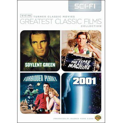 TCM Greatest Classic Films: Sci-Fi - 2001: A Space Odyssey / Soylent Green / Forbidden Planet / The Time Machine