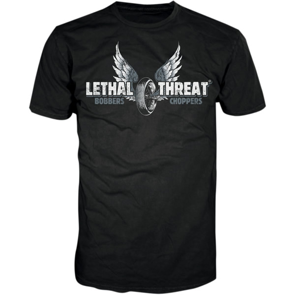 Lethal Threat Motorcycles T-Shirt Black