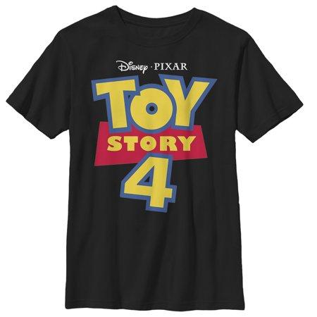 Toy Story Boys' 4 Classic Logo T-Shirt - Toy Story Shorts Halloween