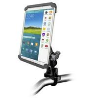 Bike Motorcycle Clamping Mount Kit fits Samsung Galaxy Tab 4 8.0 & Tab S 8.4