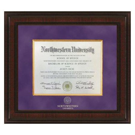 northwestern excelsior diploma frame - Diploma Frames Walmart