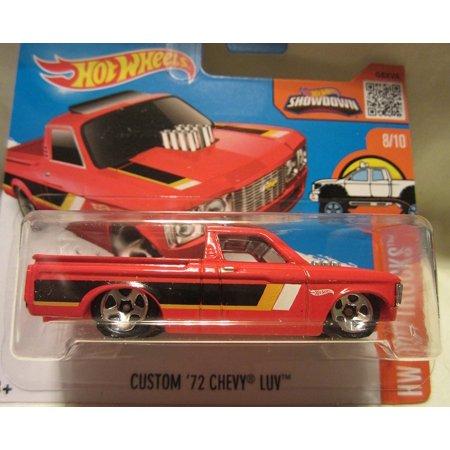 2016 Hot Wheels Hot Trucks Custom '72 Chevy LUV 8/10 Short Card, 1:64 Scale By