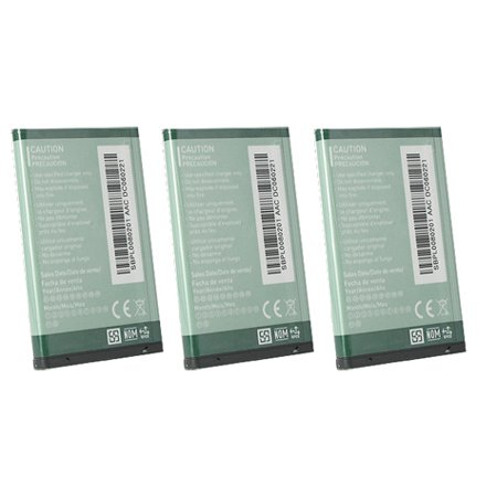 Replacement LG CG225 Li-ion Mobile Phone Battery (3 Pack)