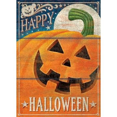 Happy Halloween Stretched Canvas - PS Art Studios (9 x 12)](Happy Halloween Makeup Studio)