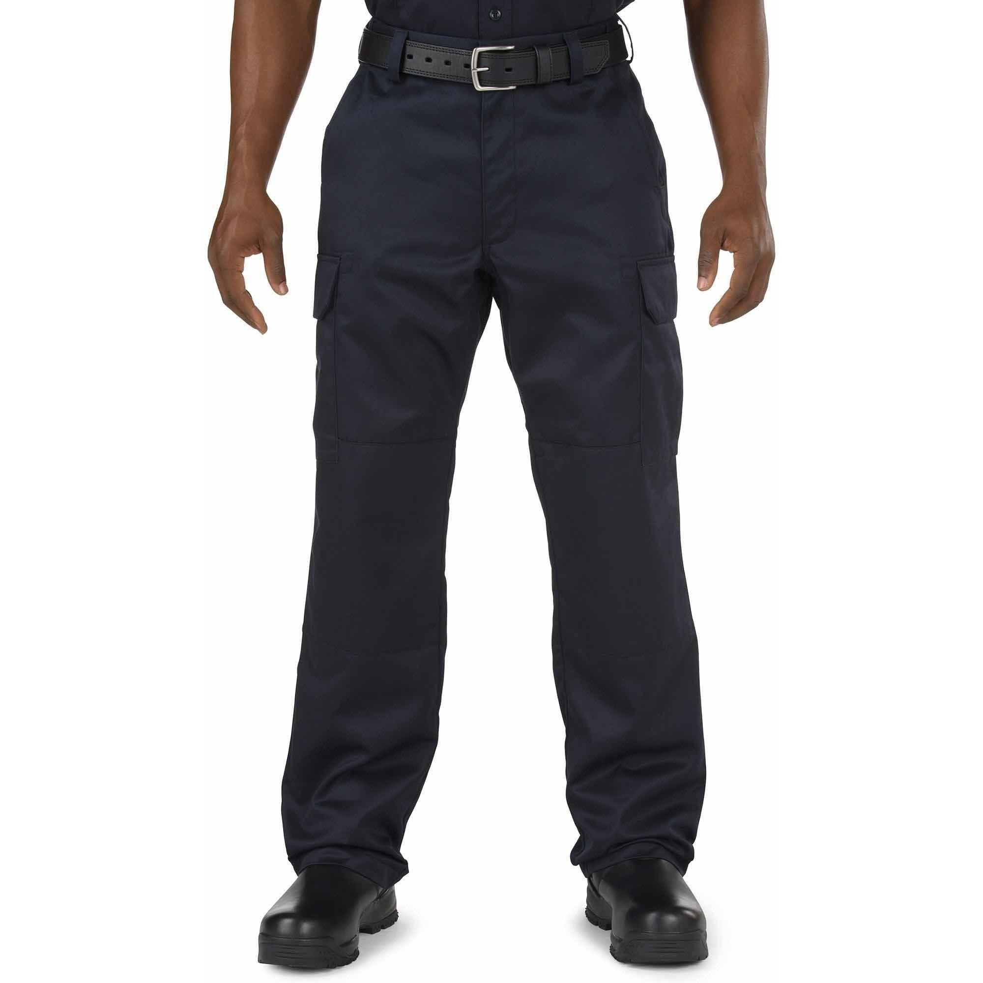 Men's Company Cargo Pant, Oversize/Unhemmed, Fire Navy