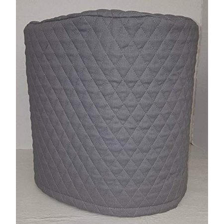 Quilted Food Processor Cover (Gray, Small)
