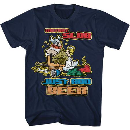 Hagar The Horrible Instant Slob Mens Crew Tee T Shirt