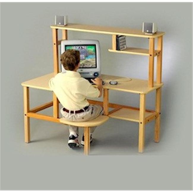Wild Zoo Furniture Grade School Computer Desk in with Trim
