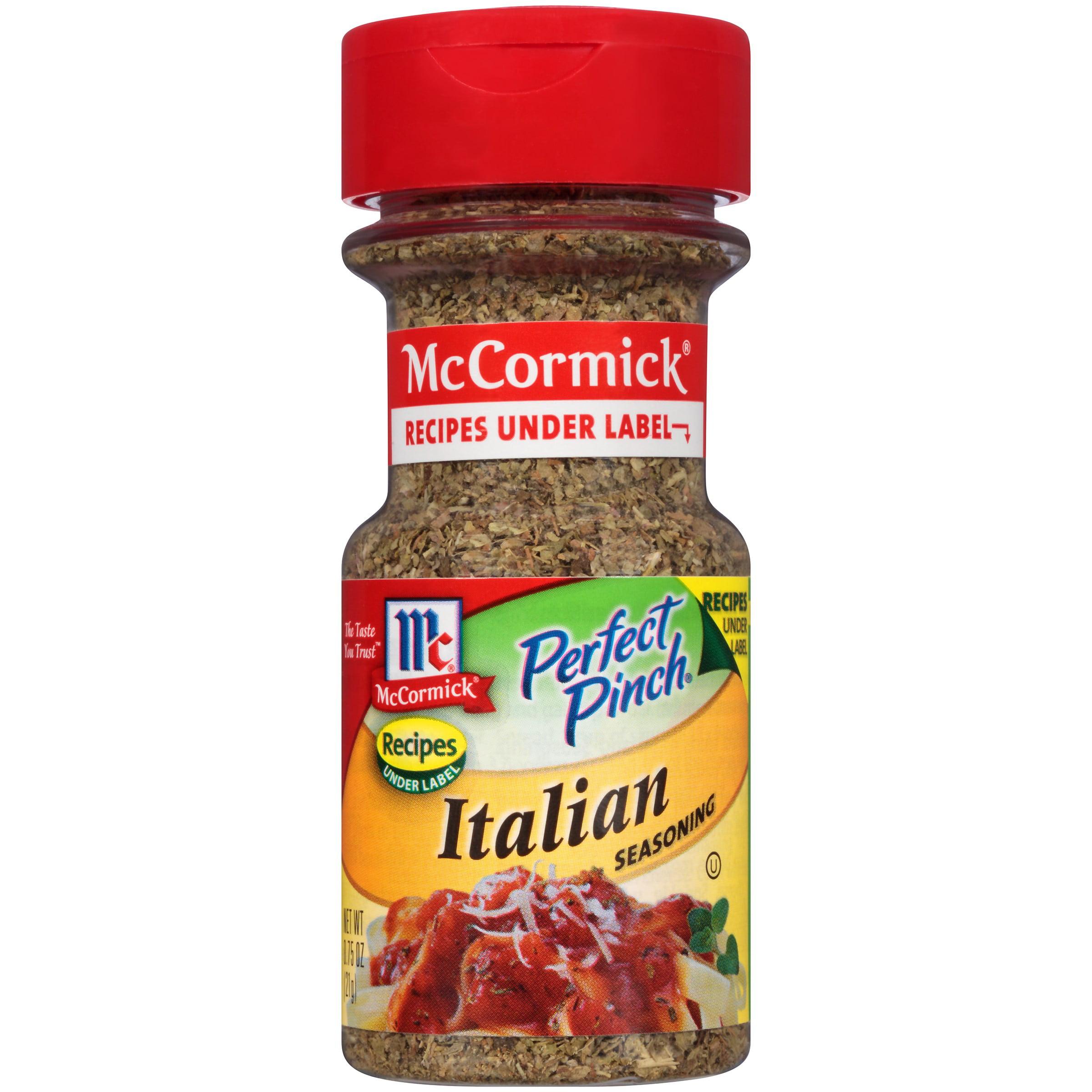 (2 Pack) McCormick Perfect Pinch Italian Seasoning, 0.75 Oz