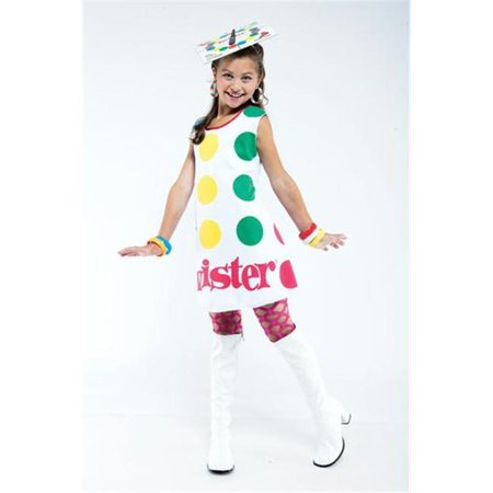 Twister License Child M 7-8 - Twister Mat Costume