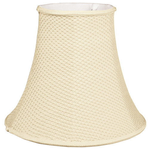 Alcott Hill 8'' Silk/Shantung Bell Lamp Shade