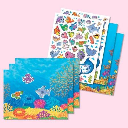 - Ocean Adventure Sticker Scene and Stickers