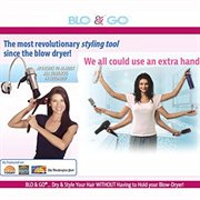 Blo and Go by Laurie Coleman - Portable Hair Dryer Holder