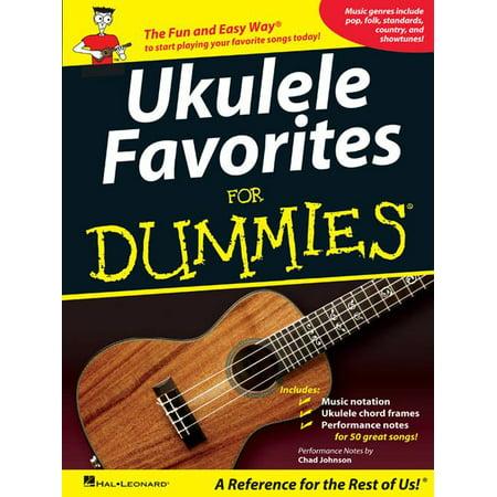 Ukulele Favorites For Dummies Walmart