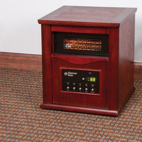 Comfort Zone Cz2020c Infrared Quartz Heater - Walmart.com