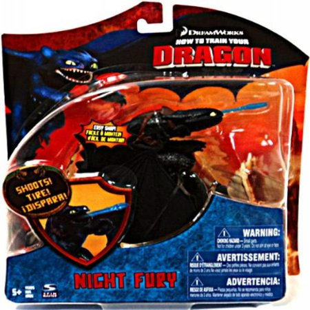Toothless Nightfury (How To Train Your Dragon Movie Series 3 Deluxe 7 Inch Action Figure Night Fury Version 3)
