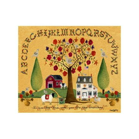 I am the True Vine Lang Print Wall Art By Cheryl Bartley
