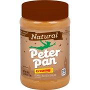 Peter Pan Natural Peanut Butter Creamy Peanut Butter 40 Oz