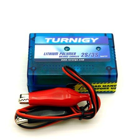 - HobbyFlip Turnigy 12v 2S-3S Basic Balance Battery Charger for Li-Po Batteries for RC Drone