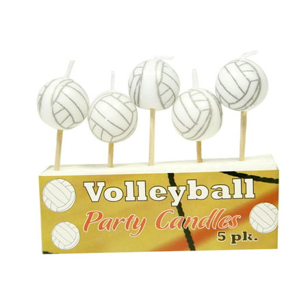 Volleyball Party Supplies (Volleyball Candles)