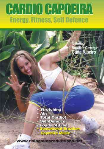 Cardio Capoeira Aerobic Workout 3 DVD Set Ribeiro by