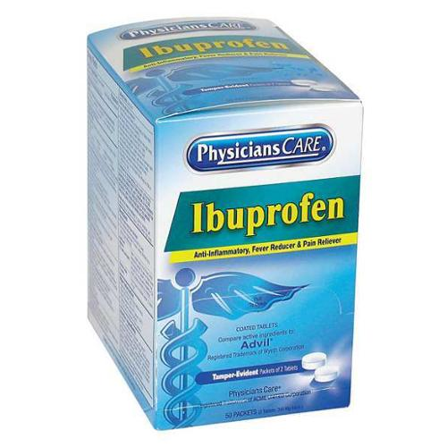 PHYSICIANSCARE 90015G Ibuprofen,Tablet,200mg,PK50