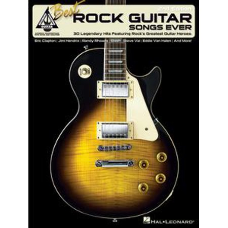 Best Rock Guitar Songs Ever (Songbook) - eBook - Best Halloween Rock Songs