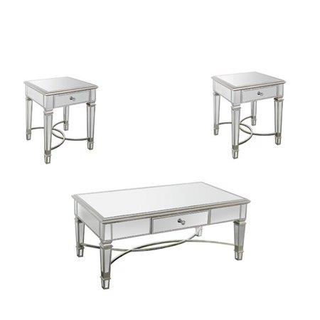 Rosdorf Park Angela Piece Coffee Table Set Walmartcom - Angela coffee table