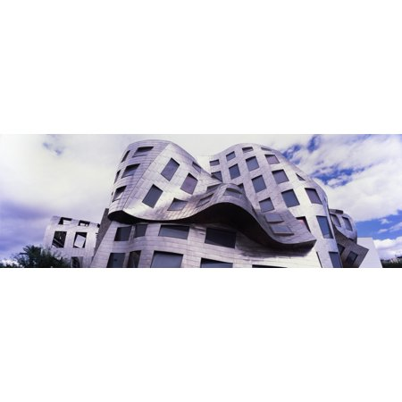 Cleveland Clinic Lou Ruvo Center for Brain Health Las Vegas Nevada USA Canvas Art - Panoramic Images (27 x (Lou Ruvo Center For Brain Health Architecture)