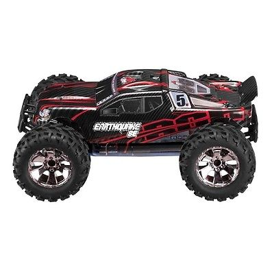 REDCAT EARTHQUAKE-8E-RED 1/8 Scale Brushless Electric Mon...