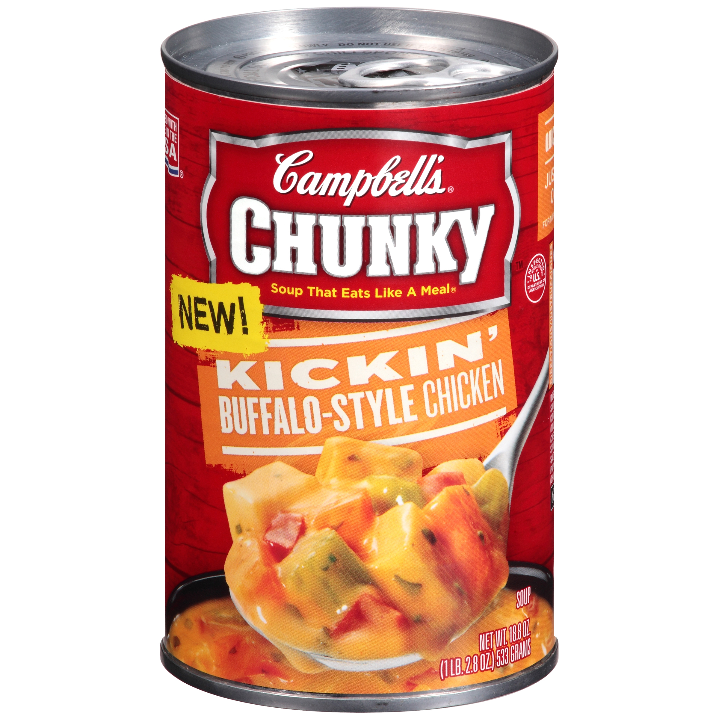 Campbell's Chunky Kickin' Buffalo-Style Chicken Soup 18.8oz