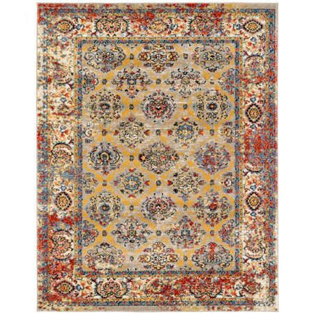 Amer Rug SNA826103 2 ft. 6 in. x 10 ft. 3 in. Sanya 8 Power-Loomed Runner Rug - Beige - image 1 of 1