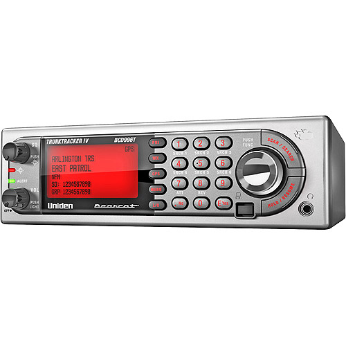 Uniden Digital Mobile Scanner with 25,000 Channels and GPS Support