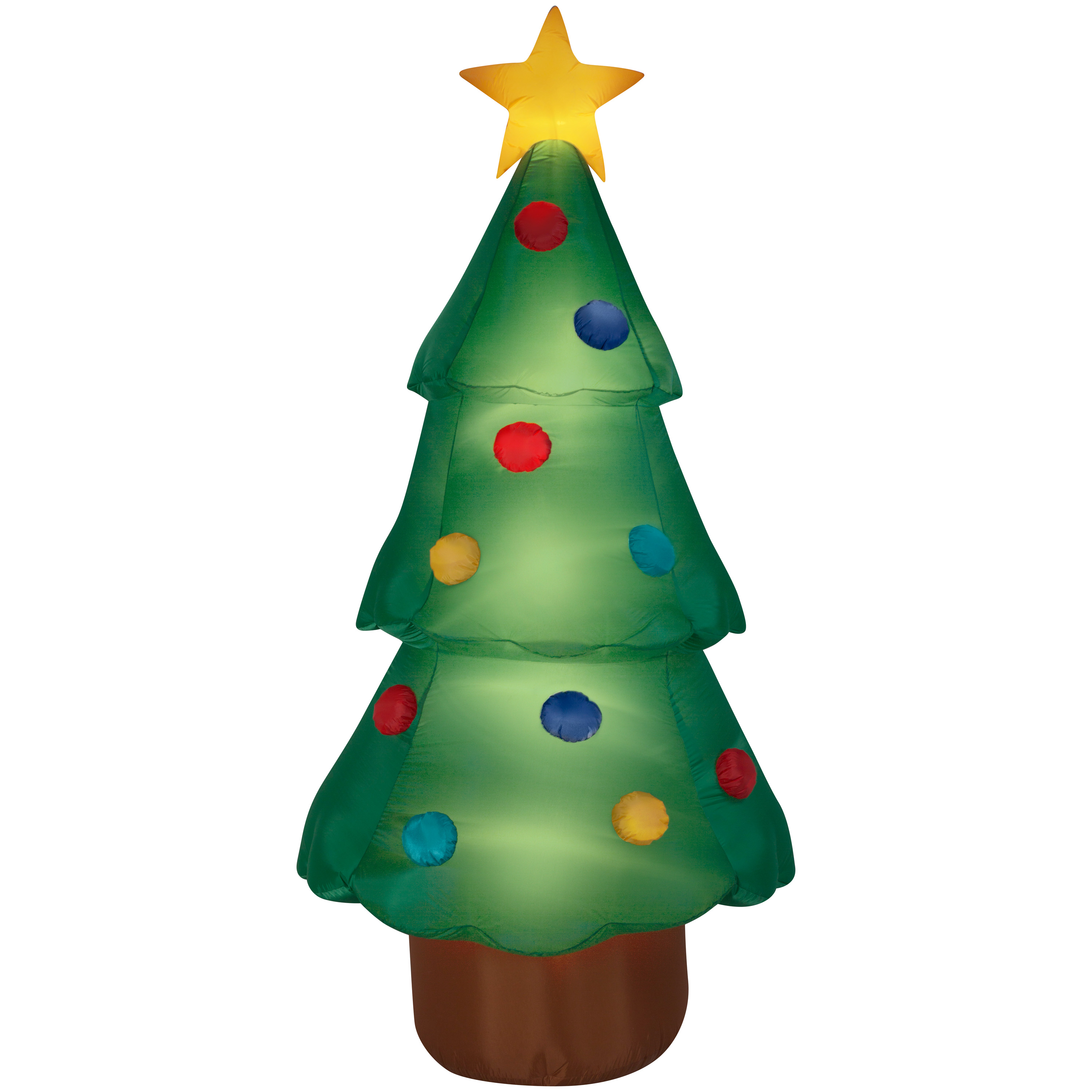 Airblown Inflatable Christmas Tree Giant 10ft Tall By Gemmy Industries  Image 1 Of 2