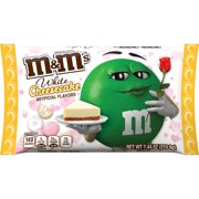 M&M'S White Cheesecake Valentine's Day Chocolate Candy, 7.44-Ounce Bag