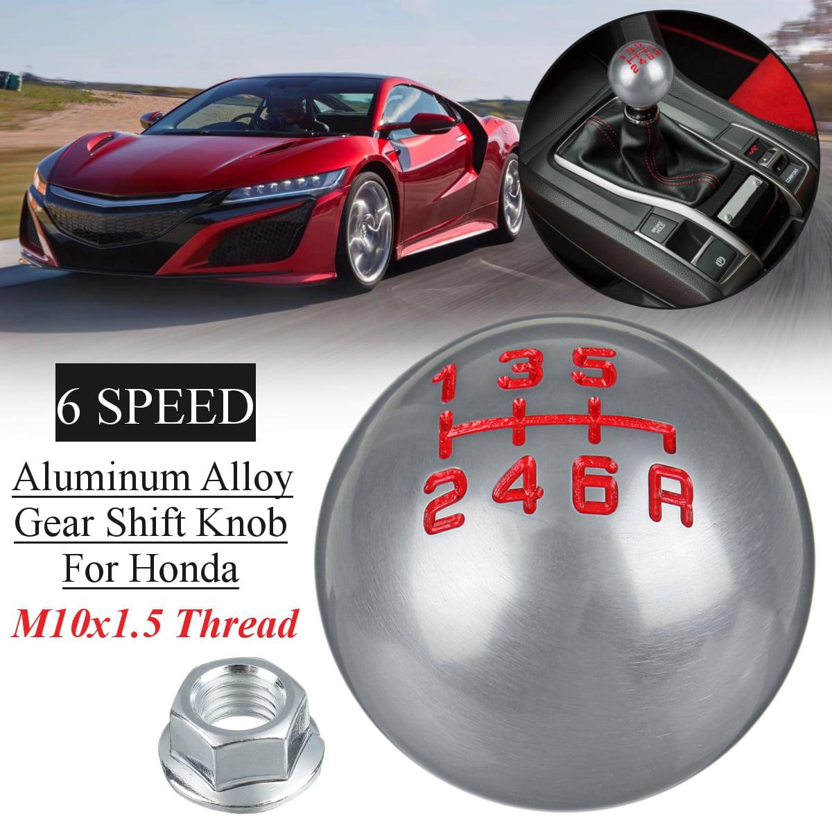 Aluminum Alloy Car Manual Gear Shift Knob Handle Shifter Head 8.5cm for Toyota Honda Gear Shift Knob Colored