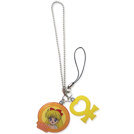 Key Chain - Sailor Moon - New Sailor Venus and Symbol Anime Licensed ge82507 for $<!---->