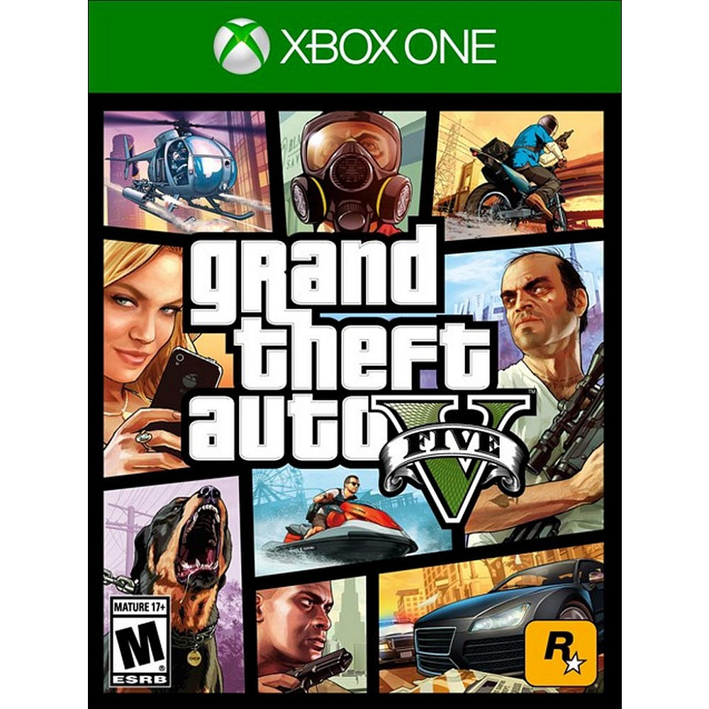 Refurbished Rockstar Games Grand Theft Auto V (Xbox One) Video Game
