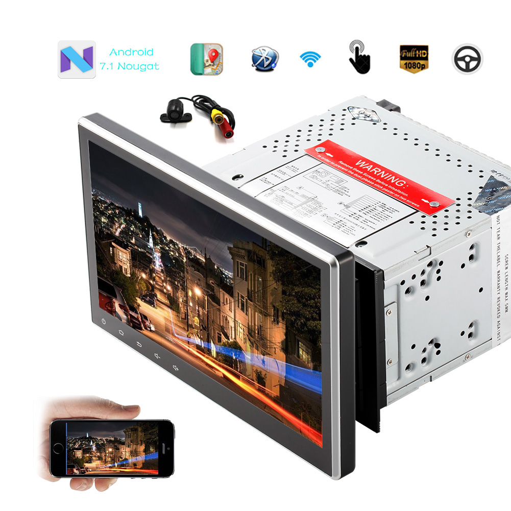 """Eincar 10.1"""" Universal Android 7.1 System 2GB Car Stereo ..."""