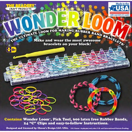 The Beadery Wonder Loom Kit, 1 Each (Rubber Bands For Bracelets)
