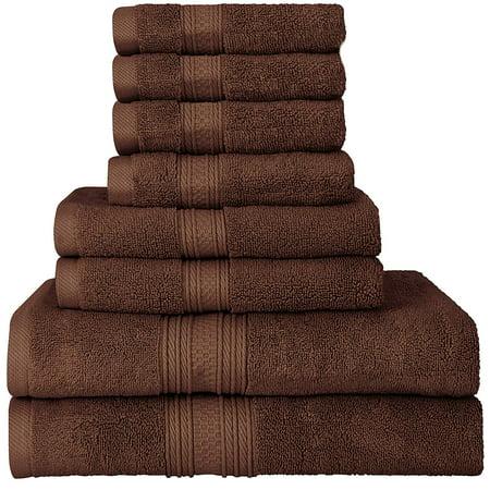 Beauty Threadz Luxurious 700 Gsm Thick 8 Piece Towel Set
