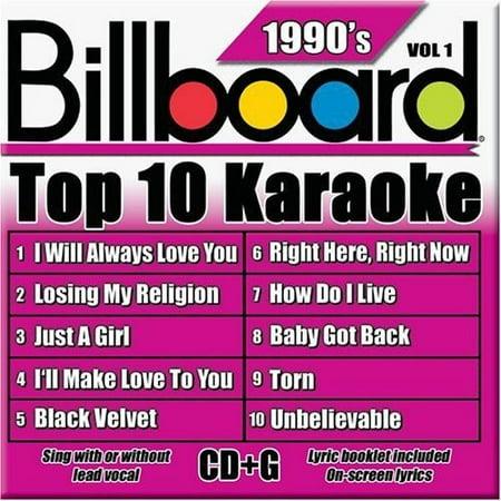 Billboard Top Karaoke: 90's, Vol. (90's Halloween Music)