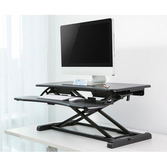 Treadmill Desk Riser: Height Adjustable Standing Desk Monitor Riser Tabletop Sit