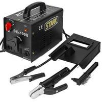 XtremepowerUS Portable 100A Electric Arc Welder Soldering Welding Machine Stick Welder Mask w/ Accessories