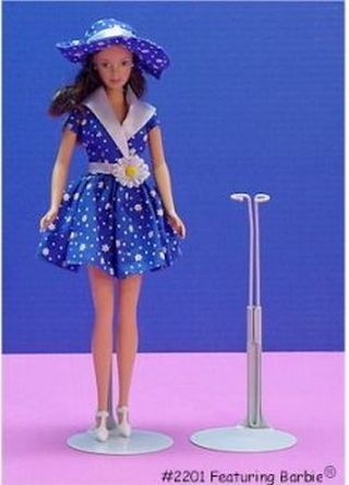 Metal Doll Stand For Barbie And Dolls 11.5 To 12.5 Inches Tall by Kaiser